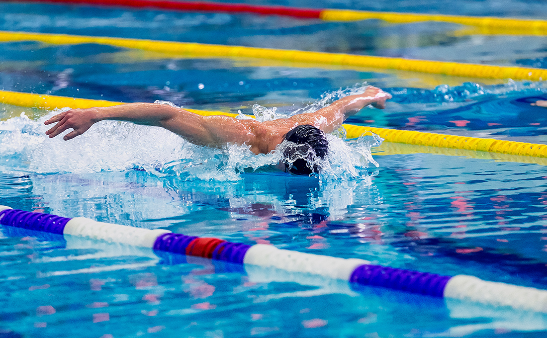 水泳歴10年以上のコーチ